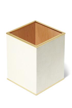 Classic Shagreen Waste Basket