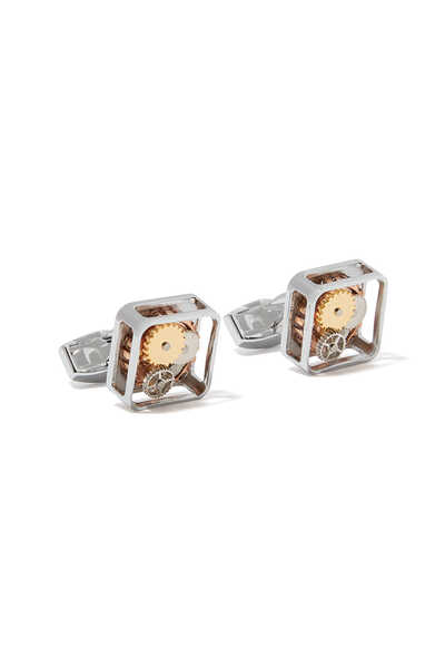 Square Button Cufflinks