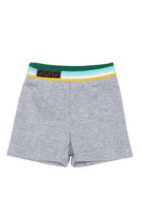 Stripe Logo Shorts