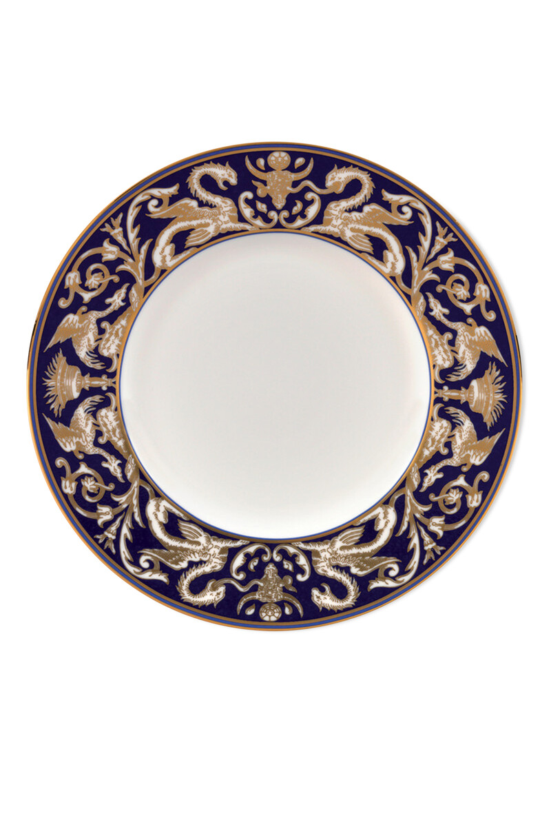 Renaissance Gold Florentine 23 Accent Plate image number 1