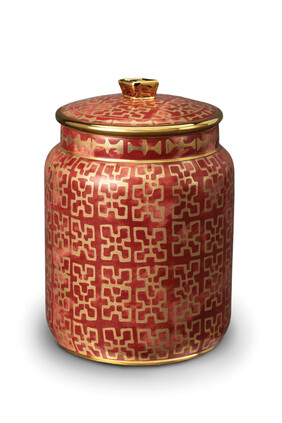 Small Fortuny Ashanti Canister