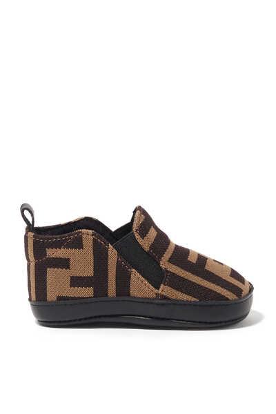 Monogram Canvas Baby Shoes