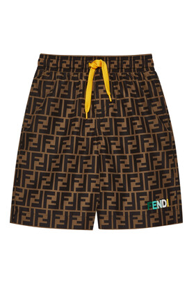 Monogram Swim Trunks