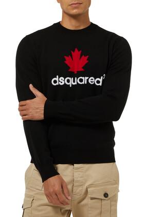 Logo Wool Sweater
