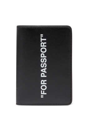 """FOR PASSPORT"" Leather Passport Holder"