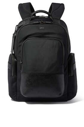 Multi-Pocket Logo Backpack