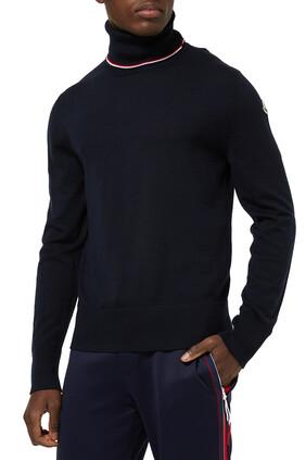 Turtleneck Wool Sweater