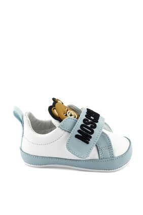 Teddy Bear Leather Sneakers