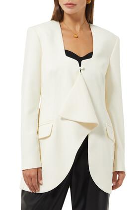 Cotton Long Sleeves Blazer