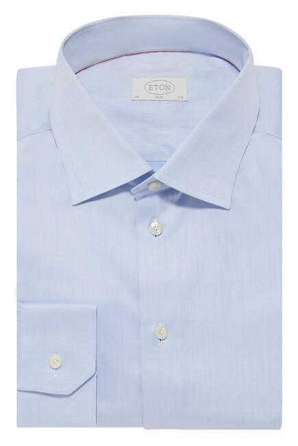 Slim Fit Signature Twill Shirt