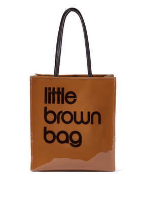 Little Brown Tote Bag