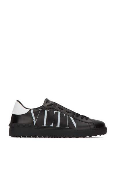 Valentino Garavani VLTN Print Open Sneakers