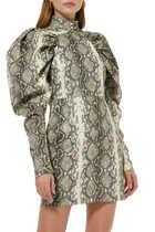 Kim Snake Print Dress
