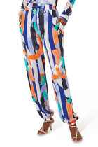 Kaleidoscope Print Pants