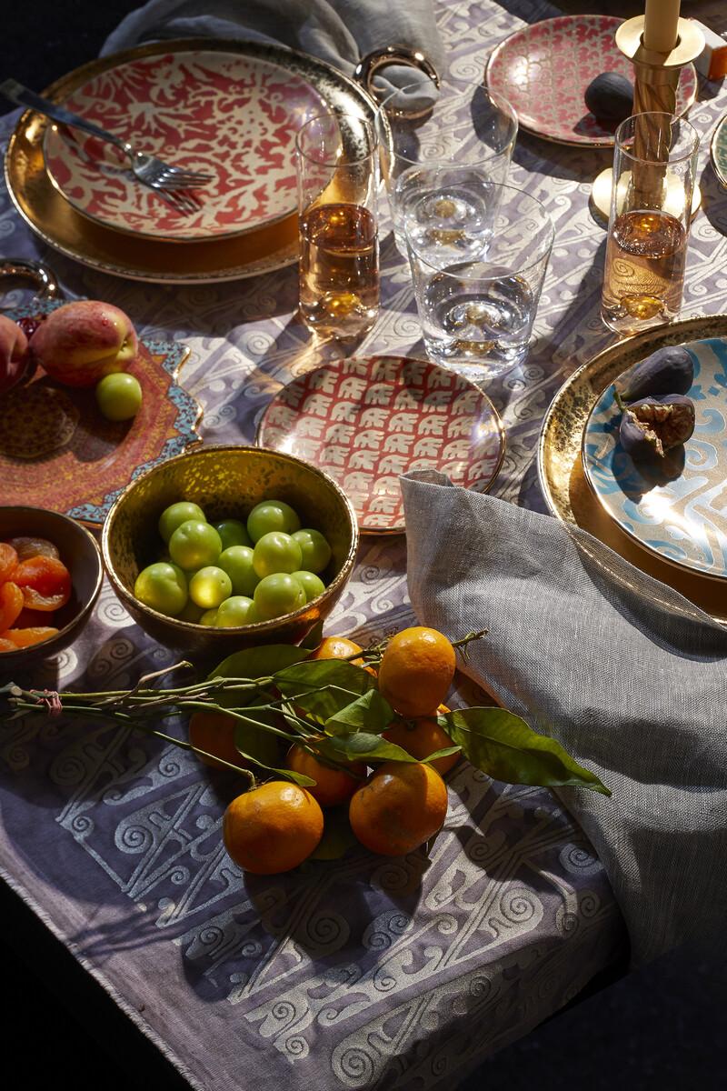 Fortuny Assorted Dessert Plates Set of Four image number 3