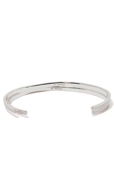 Sterling Silver Stag Cuff