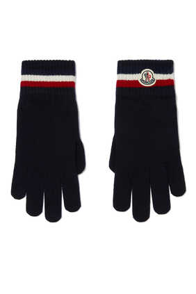 Stripe Wool Gloves