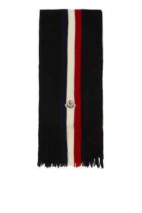 Center Flag Stripe Scarf