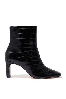 Marion Croc Embossed Boots