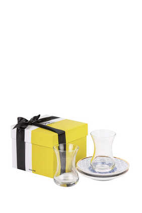 Kunooz Teacups and Saucers Gift Box