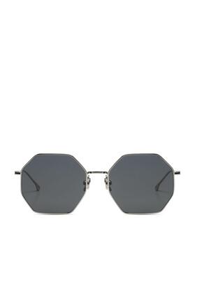 Jane Silver Smoke Sunglasses