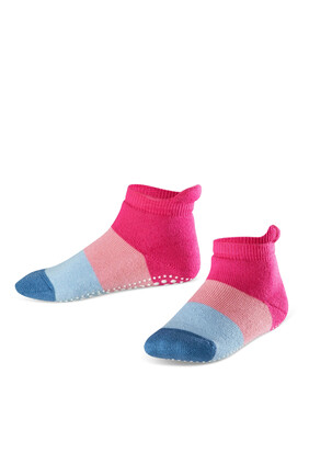 Color Block Non-slip Socks