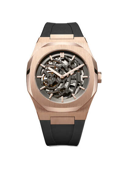 Skeleton Strap Watch