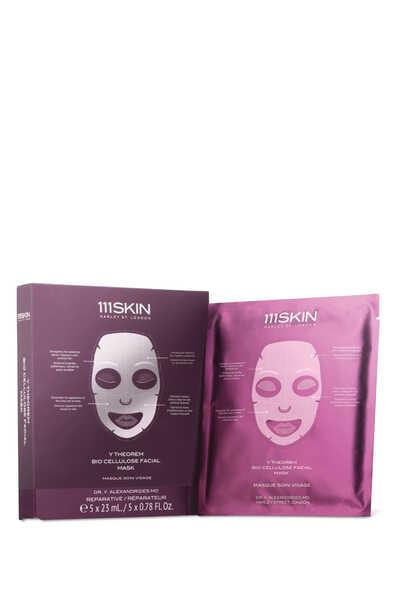 Y Theorem Bio Cellulose Facial Mask, Set of 5