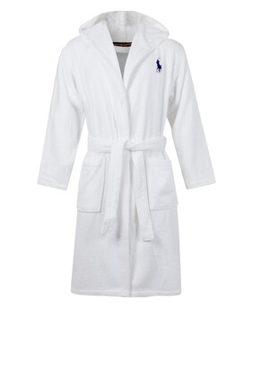 Player Cotton Bathrobe