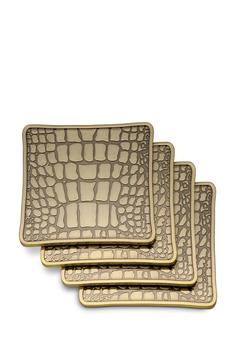 Crocodile Coasters Set of Four image number 2