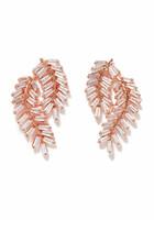 Deco Fern Swag Earrings