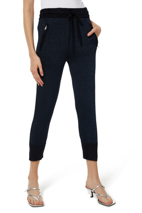 Lurex Jogging Pants