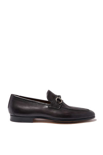 Horsebit Loafers in Leather