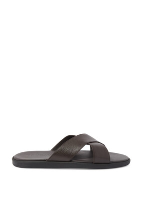 Myko Leather Sandals