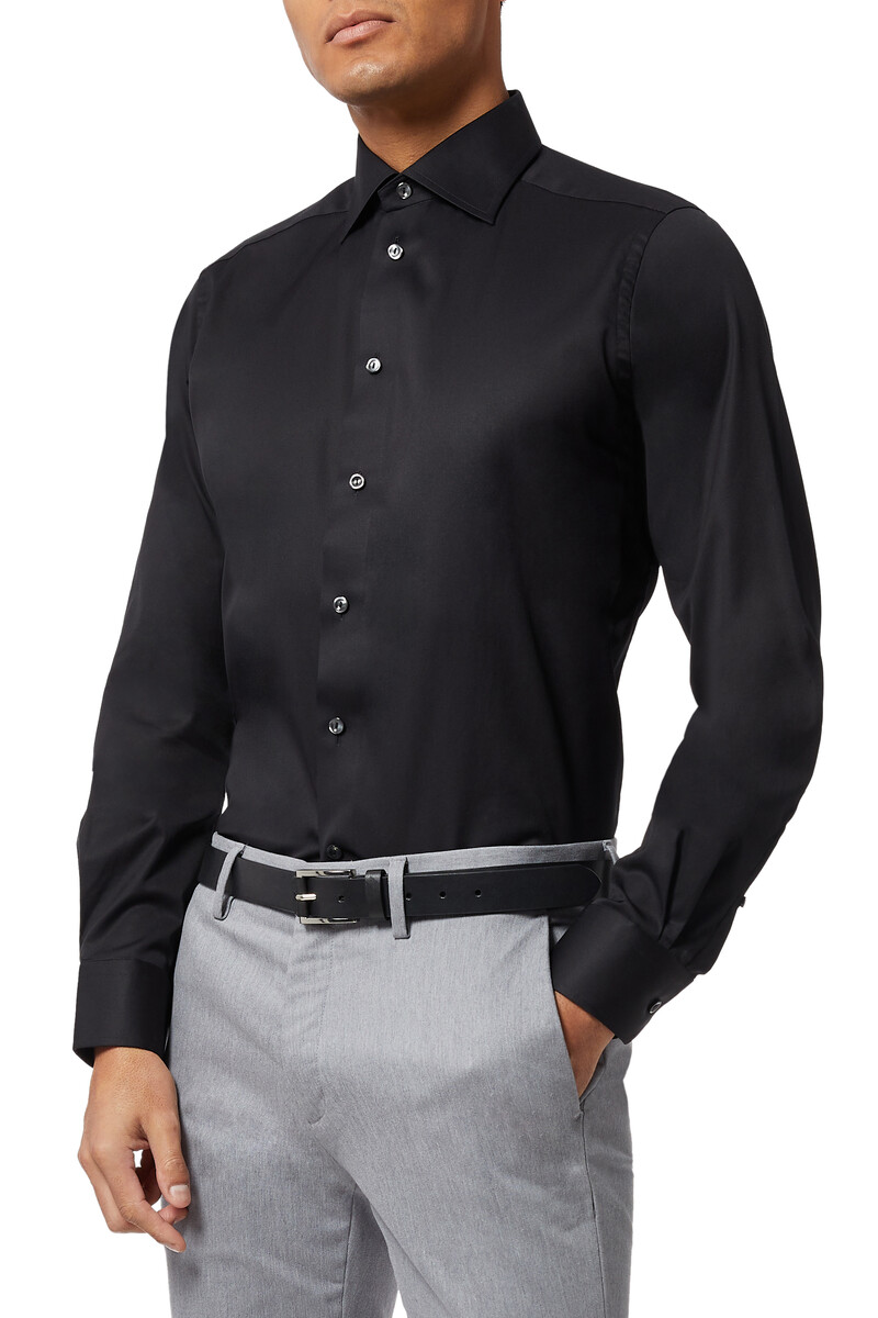 Contemporary Fit Signature Twill Shirt image number 5