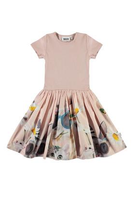 Flower Skirt Dress