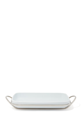 Rectangle Binario Dish