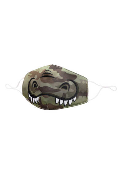Gator Printed Face Mask