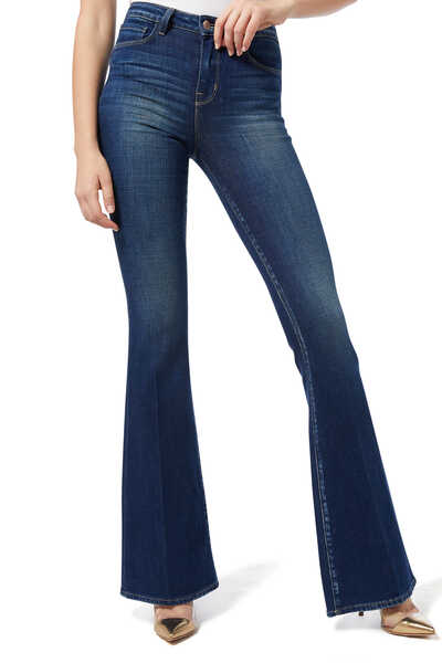 Bell Stretch Flared Pants