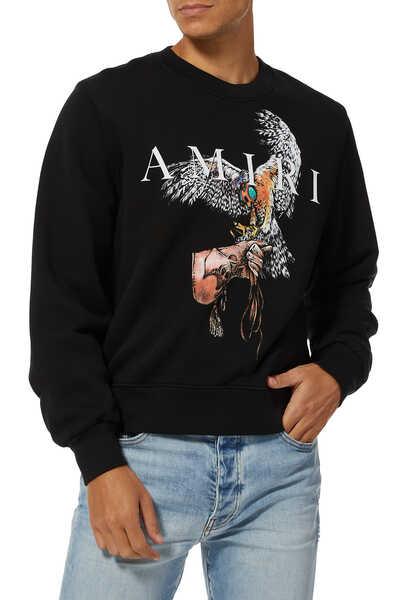 Falcon Amiri Sweatshirt