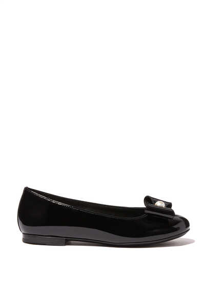 Patent Leather Ballerina Shoes