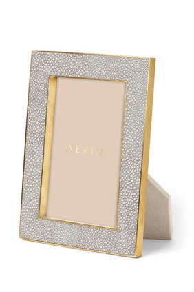 Classic Shagreen 4x6 Photo Frame