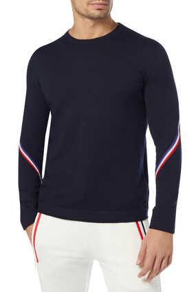 Stripe Detail Pullover