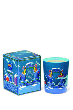 Xmas'20 Amber Feather Candle Limited Edition