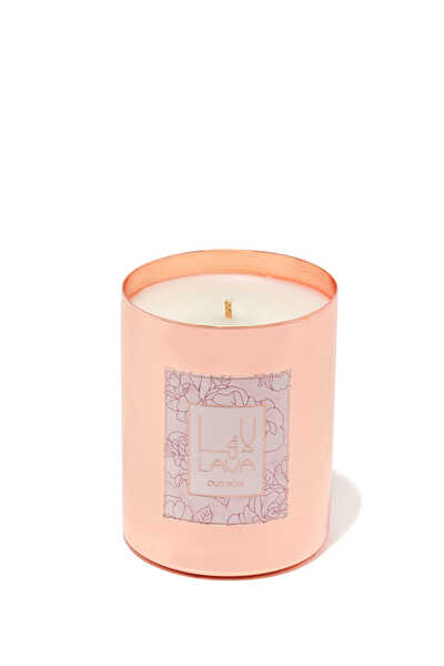Oud Amber Metal Container Candle