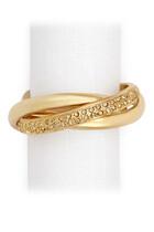 Three Ring Crystal Napkin Jewels