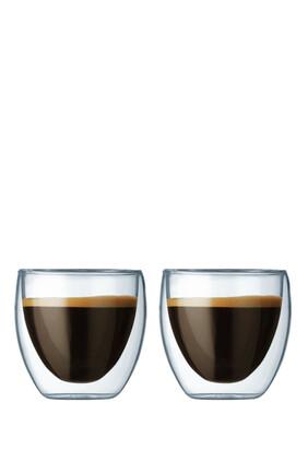 Pavina Double Wall Glass, Set Of Two