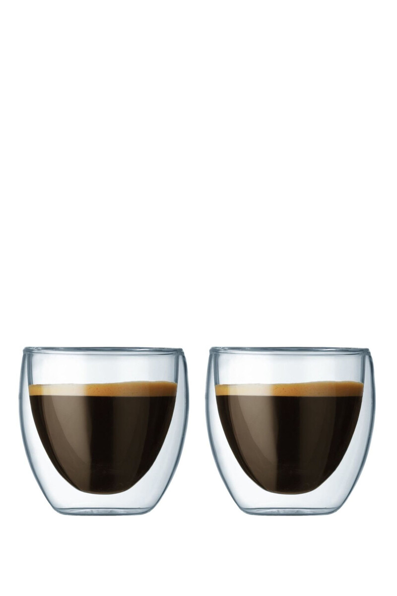 Pavina Double Wall Glass, Set Of Two image number 1