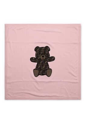 FF Bear Appliqué Blanket