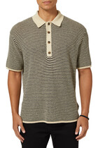 Enzo Knitted Polo Shirt